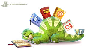 Daily Paint #1139. Thesaurus
