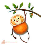 Daily Paint #1146. Orangeutan