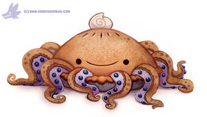 Daily Paint #1155. Octopie