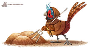 Daily Paint #1161. Peasant by Cryptid-Creations