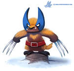 Daily Paint #1166. Wolverine