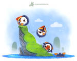 Daily Paint #1193. Poofins