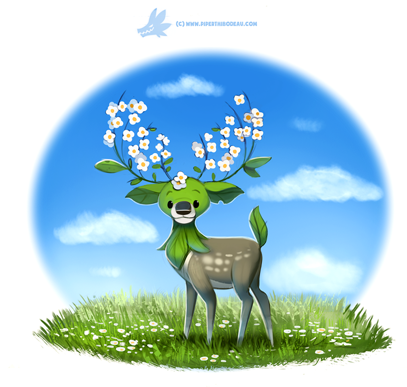 Daily Paint #1224. Buckwheat by Cryptid-Creations