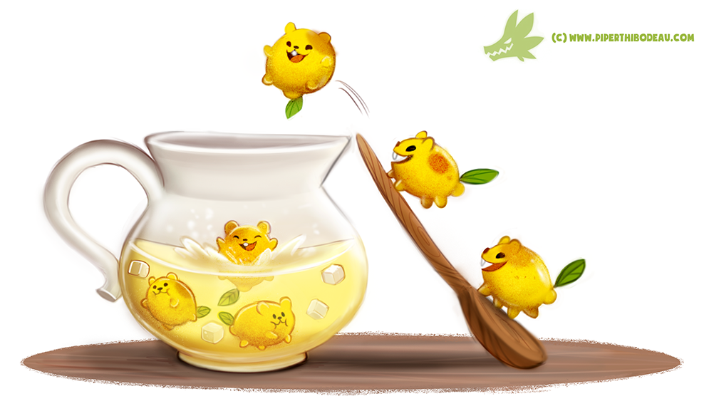 Daily Paint #1226. Lemmingade by Cryptid-Creations