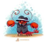 Daily Paint #1238. Mobster