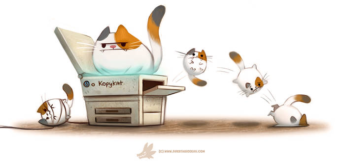 Daily Paint #1256. Copycat