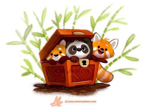 Daily Paint #1264. Pandara's Box