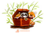 Daily Paint #1264. Pandara's Box