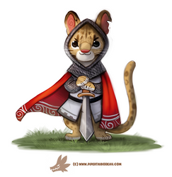Daily Paint 1278. Sir Ocelot
