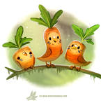 Daily Paint 1279. Carrotkeets