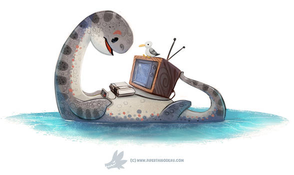 Daily Paint 1285. NESsie