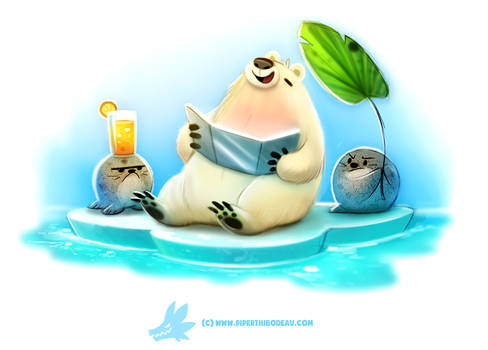 Daily Paint 1288. Solar Bear