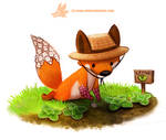Daily Paint 1290. Foxglove