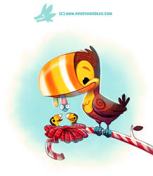 Daily Paint 1294. Toucandy