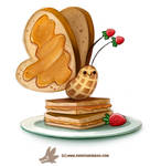 Daily Paint 1307. Peanut Butterfly