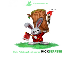 Daily 1312. Lumber Jackrabbit