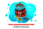 Daily 1319. Royal Canadian Mountee Police