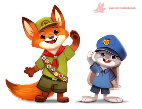 Zootopia - Nick and Judy