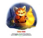 Daily 1331. Fire-Fox