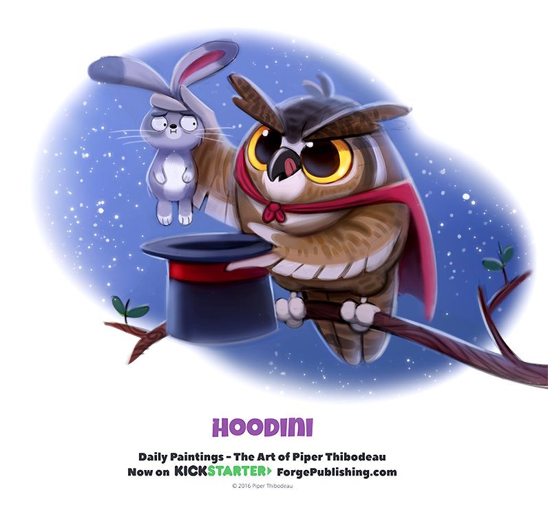 Daily 1333. Hoodini by Cryptid-Creations