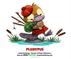 Daily 1338. Plaidypus