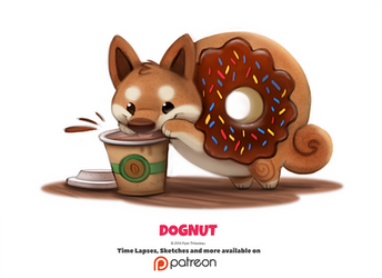 Daily 1339. Dognut by Cryptid-Creations