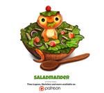 Daily 1344. Saladmander