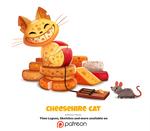 Daily 1353. Cheeshire Cat