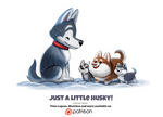 Daily 1357. Just a little husky!
