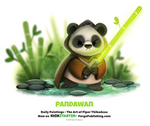Daily 1358. Pandawan by Cryptid-Creations