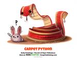 Daily 1362. Carpet Python