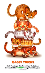 Daily 1363. Bagel Tigers