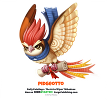 Pokemon - Pidgeotto by Cryptid-Creations