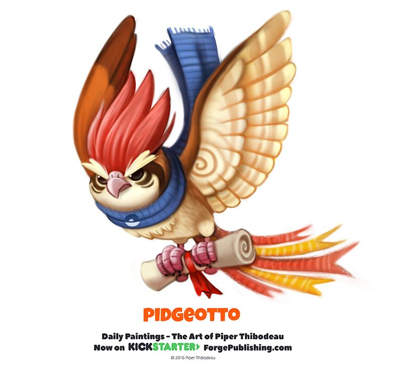Pokemon Pidgeotto 628376388