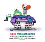 Daily 1364. Sock Ness Monster
