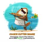 Daily 1365. Cookie Cutter Shark