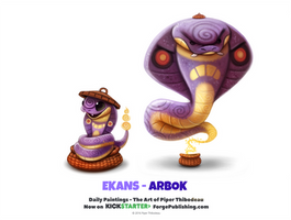 Ekans - Arbok by Cryptid-Creations
