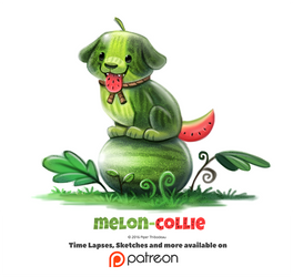 Day 1375. Melon-Collie