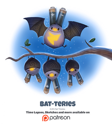 Day 1377. Bat-teries