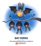 Day 1377. Bat-teries