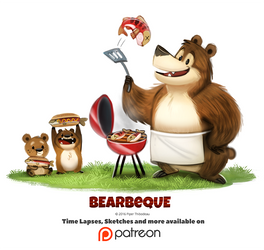 Day 1378. Bearbeque