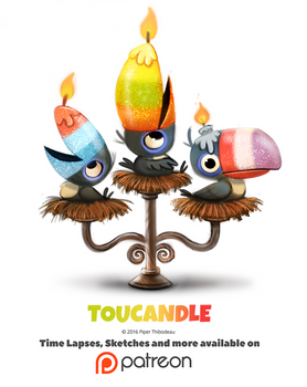 Day 1379. Toucandle