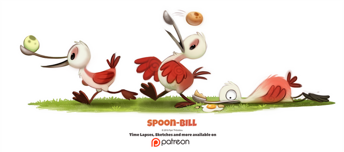 Day 1380. Spoon-bill