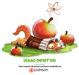 Day 1381. Isaac Newt'on