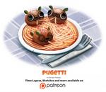 Day 1387. Pugetti