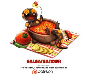 Day 1390. Salsamander