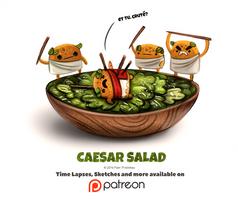 Day 1391. Caesar Salad