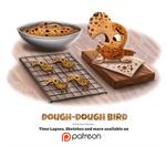Day 1392. Dough-Dough Bird