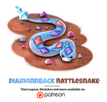 Day 1393. Diamondback Rattlesnake