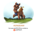 Day 1399. Alpackage